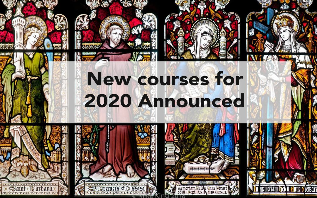 New Courses for 2020 Unveiled